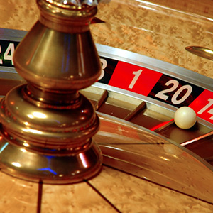 Newcastle Fun Casino Roulette Wheel