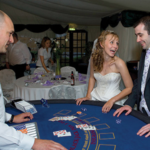 Newcastle Fun Casino Wedding