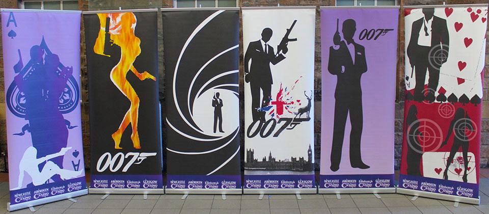 James Bond Banners